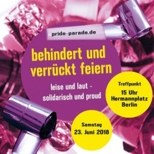 Pride Parade am 22. Juni in Berlin
